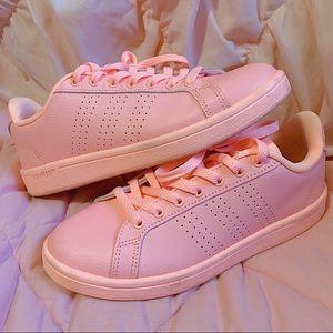 Adidas Cloudfoam Memory Foam Light Pink Sneakers